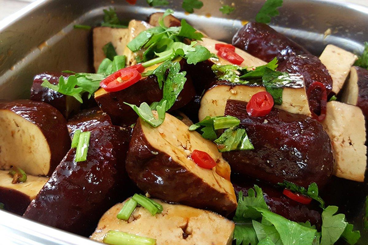 簡單搖一搖,五種素食涼拌菜輕鬆上桌!-中華料理