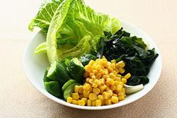 和風沙拉與2種美味沙拉醬-日韓南洋料理