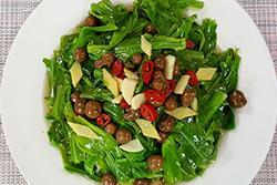 大廚炒野菜為什麼好吃?-中華料理