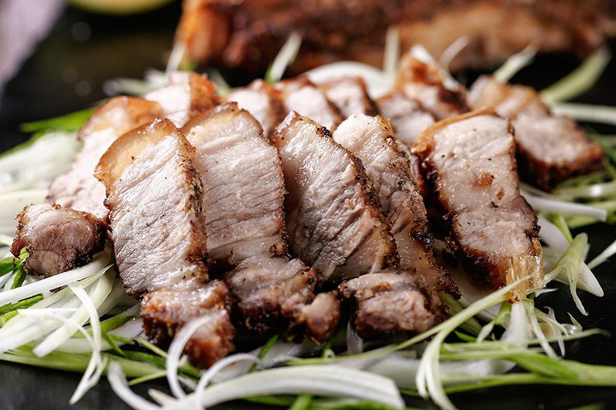 鹽烤五花肉,幾個步驟輕鬆上桌!