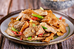 烤肉剩下的肉片拿出來,馬上變館子菜!-中華料理