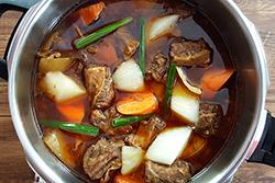 善用壓力鍋,紅燒牛肉原汁原味快速上桌!