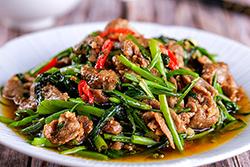 四種最人氣空心菜料理,一次學會∼-中華料理