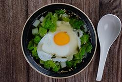 蛋泡熟 口感更軟嫩-中華料理
