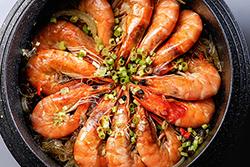 鮮蝦粉絲煲,成功的秘密武器-中華料理
