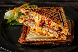神奇點心機做四種三明治
