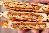 壓一下,星級三明治六分鐘出爐!