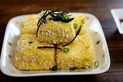 氣炸鍋做脆皮豆腐-中華料理