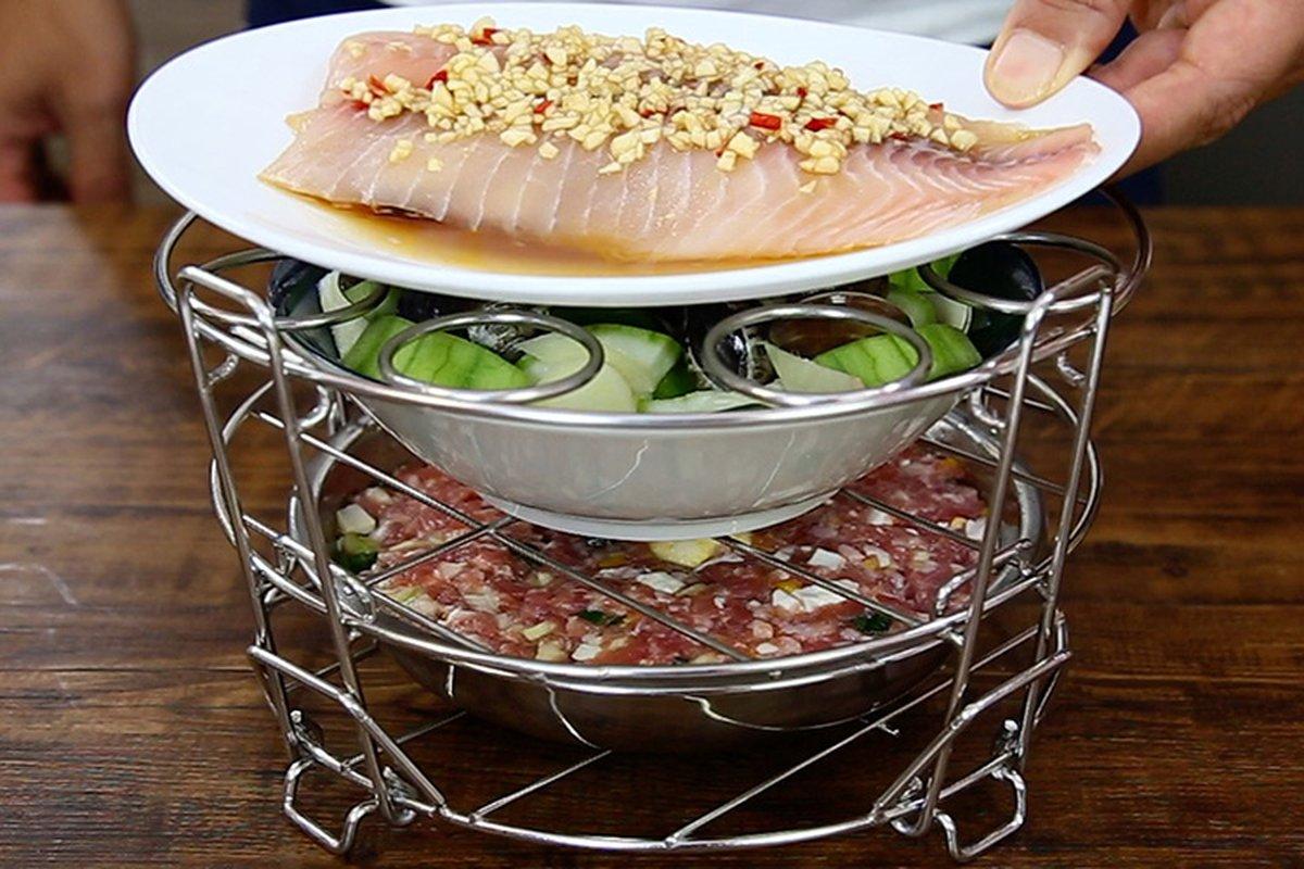 輕鬆利用電鍋20分鐘做三道菜-中華料理