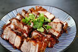 這麼漂亮的紅糟肉-中華料理