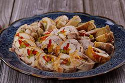 雞腿卷-中華料理