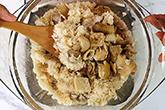 康寧鍋燜出來的麻油雞飯