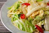 高麗菜的四種炒法