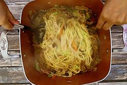 素炒麵,這樣炒,最入味∼-中華料理