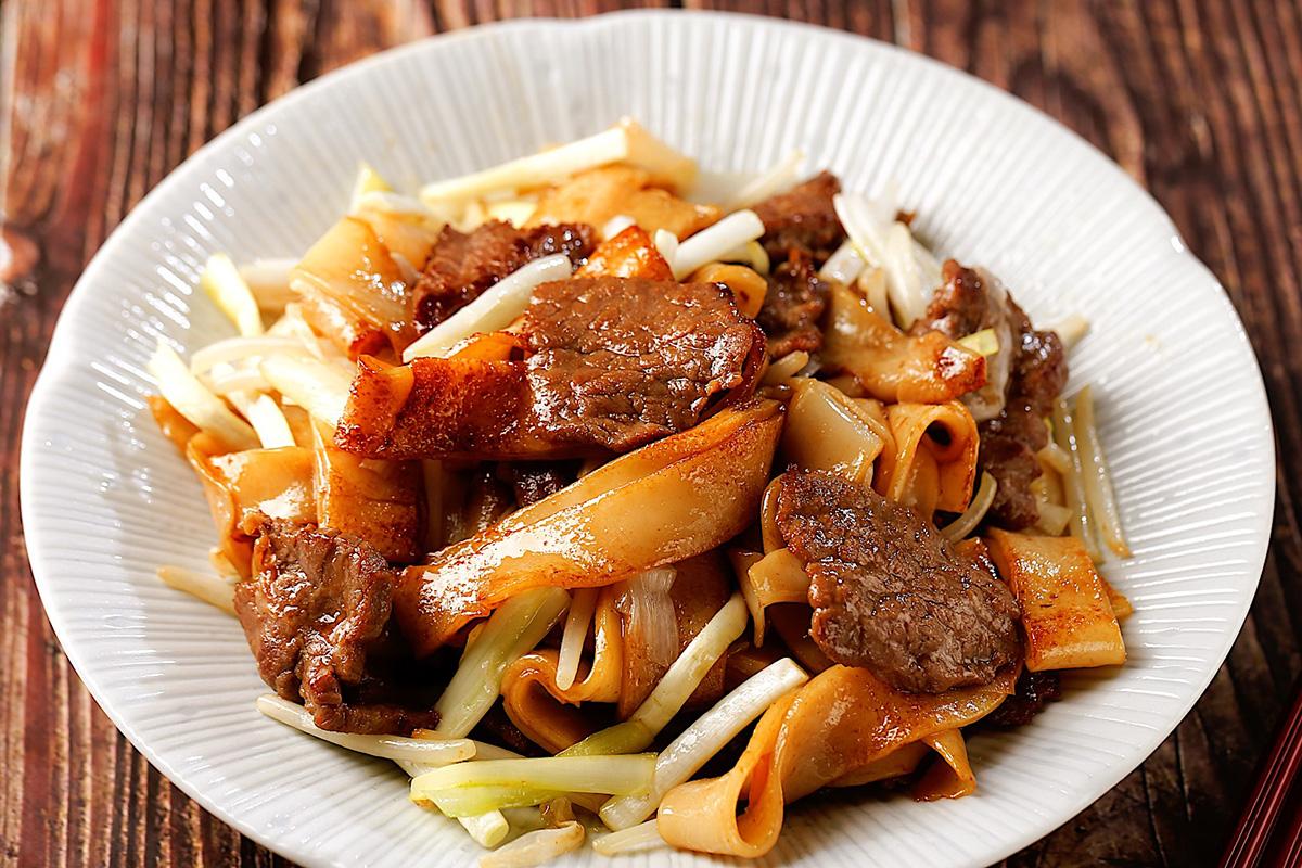 乾炒牛河好吃的秘訣-中華料理