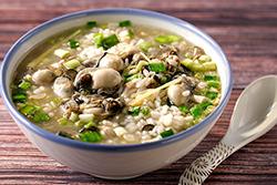 海鮮粥要好吃,火候最關鍵。-中華料理