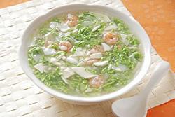 翡翠海鮮羹-中華料理