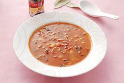 義大利起司蔬菜湯-西式料理