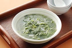 莧菜吻仔魚羹-中華料理