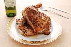 烤出漂亮入味的雞腿