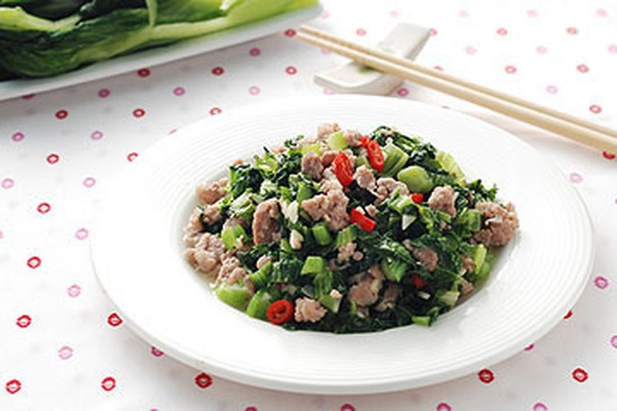 自己做雪裡紅-中華料理