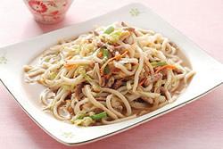 台灣風味炒烏龍麵
