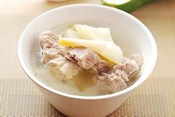 用電子鍋煲湯-青木瓜排骨湯-中華料理