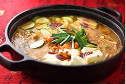 韓式豆腐鍋-日韓南洋料理