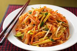 韓式辣拌冬粉-日韓南洋料理