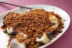 豆酥鱈魚-中華料理