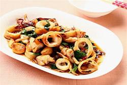 多汁鮮脆的三杯中卷-中華料理