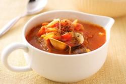 義式海鮮清湯-西式料理