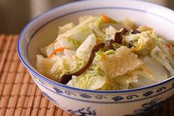 古早味魯白菜-中華料理