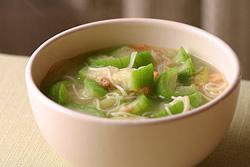 絲瓜麵線-中華料理