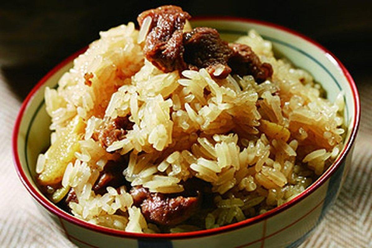 羊肉米糕-香Q的秘訣-中華料理