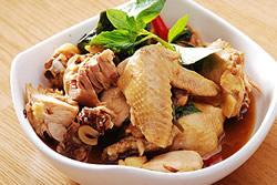 白斬雞 變 三杯雞-中華料理