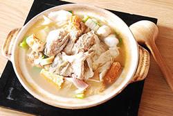 牲禮炸魚 變 砂鍋魚頭-中華料理
