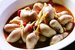 麻油雞腰-中華料理