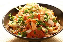 開胃的泰式涼拌海鮮-日韓南洋料理