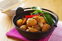 火鍋料大變身-三杯花枝丸-中華料理