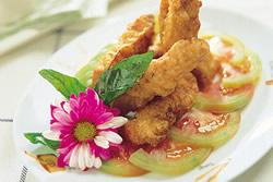 酥炸雞柳條-西式料理