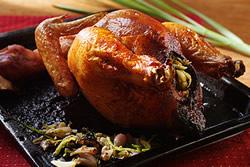 香茅風味的烤雞
