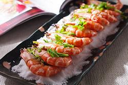 用平底鍋做鹽烤蝦