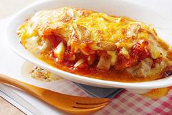 焗蒜辣莎莎豬排-西式料理
