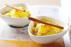 炒焦糖肉桂蘋果焗美奶滋-西式料理