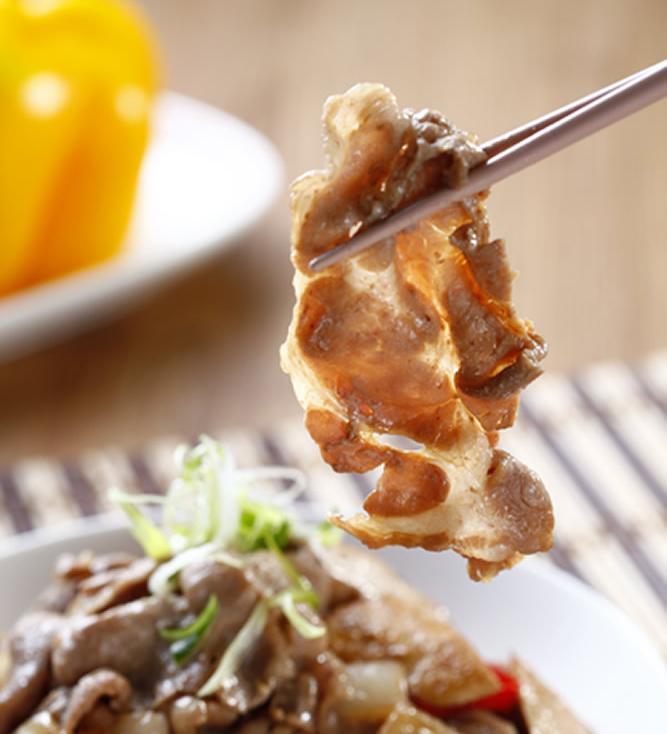 食譜:醬燒回鍋梅花肉