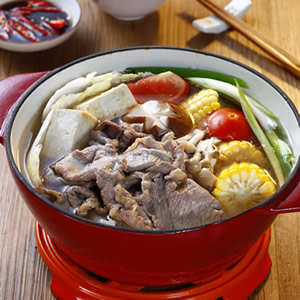 沙朗牛涮涮鍋