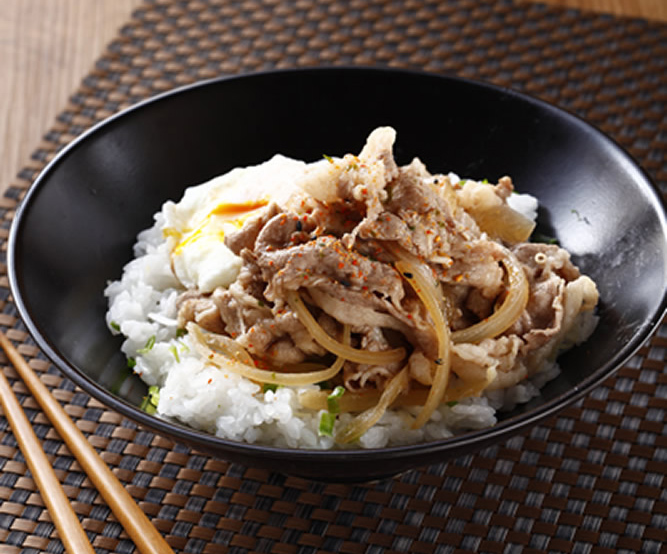 食譜:牛丼飯(1)
