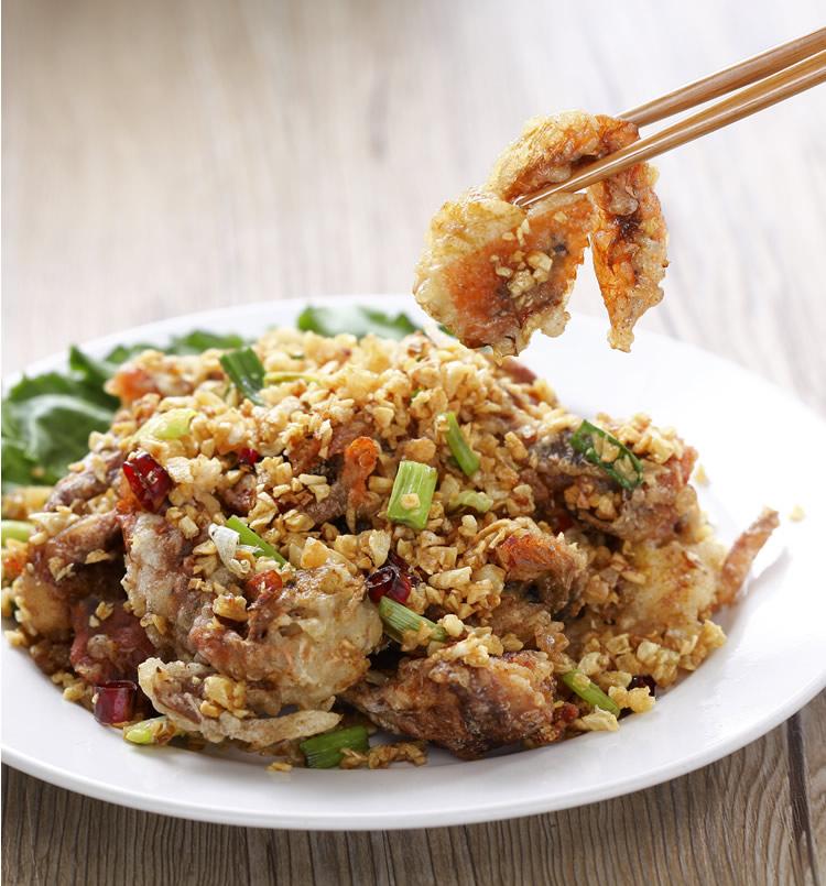 食譜:避風塘炒蟹(1)