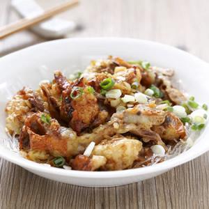 蒜茸蒸軟殼蟹